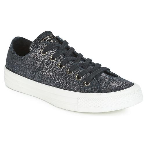 Sapatos Mulher Sapatilhas Converse CHUCK TAYLOR ALL STAR OX Preto
