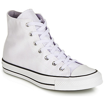 Sapatos Mulher Sapatilhas de cano-alto Converse CHUCK TAYLOR ALL STAR HI Branco / Branco
