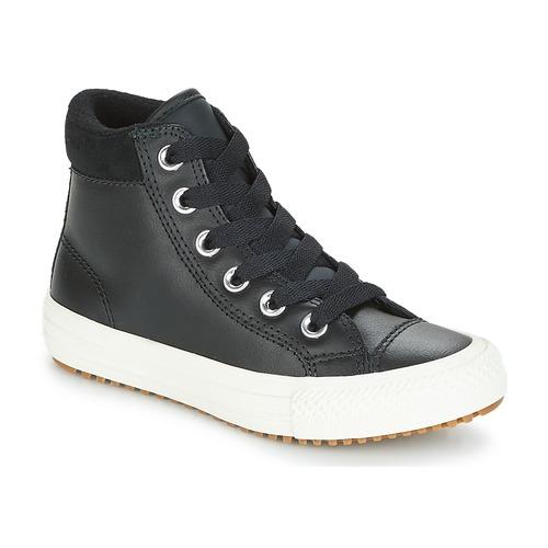 Sapatos Criança Sapatilhas de cano-alto Converse CHUCK TAYLOR ALL STAR PC BOOT HI Preto / Branco