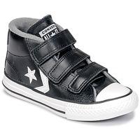 Sapatos Criança Sapatilhas de cano-alto Converse STAR PLAYER 3V MID Preto / Vintage / Branco