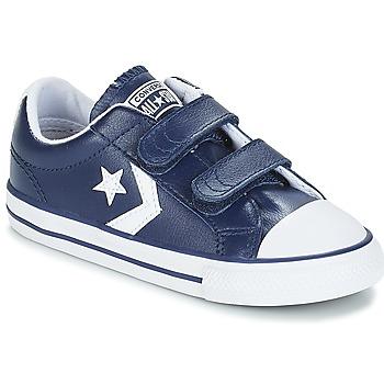 Sapatos Criança Sapatilhas Converse STAR PLAYER EV V OX Navy / Branco