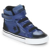 Sapatos Rapaz Sapatilhas de cano-alto Converse PRO BLAZE STRAP HI Azul