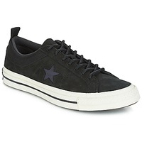 Sapatos Sapatilhas Converse ONE STAR LEATHER OX Preto