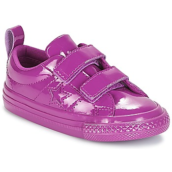 Sapatos Rapariga Sapatilhas Converse ONE STAR 2V SYNTHETIC OX Violeta
