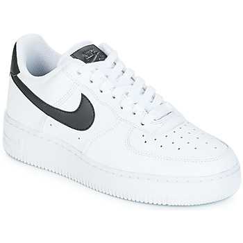 Sapatos Mulher Sapatilhas Nike AIR FORCE 1'07 W Branco / Preto