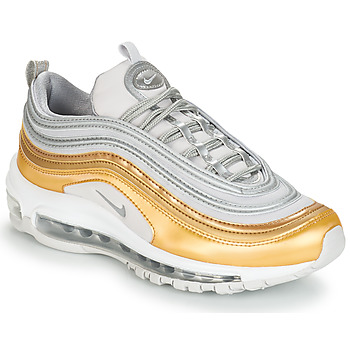 Sapatos Mulher Sapatilhas Nike AIR MAX 97 SPECIAL EDITION W Cinza / Ouro