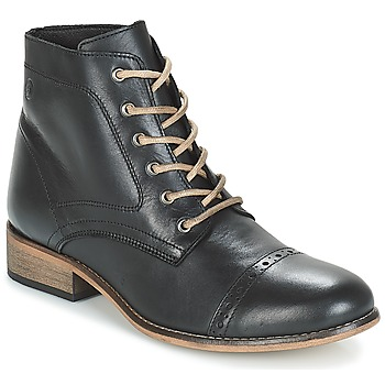 Sapatos Mulher Botas baixas Betty London FOLIANE Preto