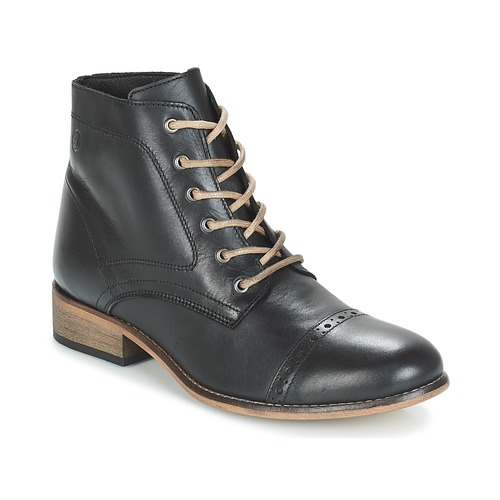 Sapatos Mulher Botas baixas Betty London FOLIANE Preto