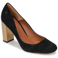 Sapatos Mulher Escarpim Betty London JIFOLU Preto / Ouro