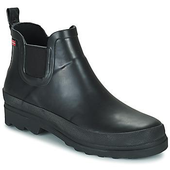 Sapatos Mulher Botas de borracha Sanita FELICIA Preto