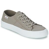 Sapatos Sapatilhas Victoria BLUCHER LONA GRUESA Cinza