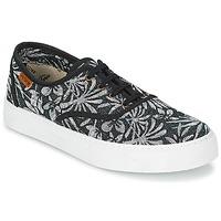 Sapatos Mulher Sapatilhas Victoria INGLES ESTAP HOJAS TROPICAL Preto