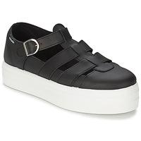 Sapatos Mulher Sandálias Victoria SANDALIA PIEL Preto