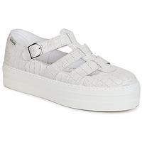 Sapatos Mulher Sandálias Victoria SANDALIA PIEL GRABADA COCO Branco