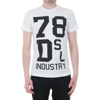 Textil Homem T-Shirt mangas curtas Diesel DIETSHUA172ST0304796 - 002 Blanco