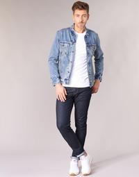 Textil Homem Calças de ganga slim Levi's 512 SLIM TAPER FIT Azul