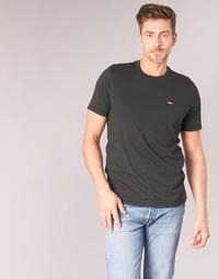 Textil Homem T-Shirt mangas curtas Levi's SS ORIGINAL HM TEE Preto
