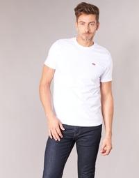 Textil Homem T-Shirt mangas curtas Levi's SS ORIGINAL HM TEE Branco