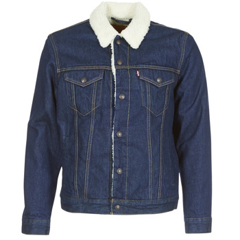 Textil Homem casacos de ganga Levi's TYPE 3 SHERPA TRUCKER Rockridge