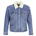 Textil Mulher casacos de ganga Levi's