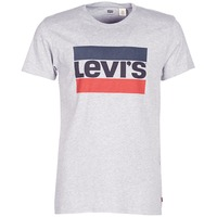 Textil Homem T-Shirt mangas curtas Levi's SPORTSWEAR LOGO GRAPHIC Cinza