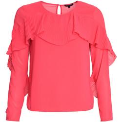 Textil Mulher Tops / Blusas Kocca Blusa ZEFIRO Rosa
