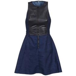 Textil Mulher Vestidos curtos G-Star Raw SUTZIL DRESS Marinho / Preto