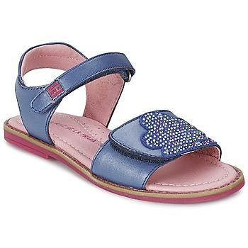 Sapatos Rapariga Sandálias Agatha Ruiz de la Prada MISS PONZA Azul