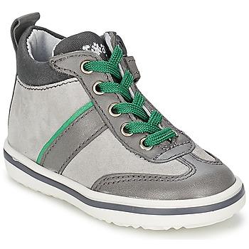 Sapatos Criança Sapatilhas de cano-alto Acebo's ABARNE Cinza