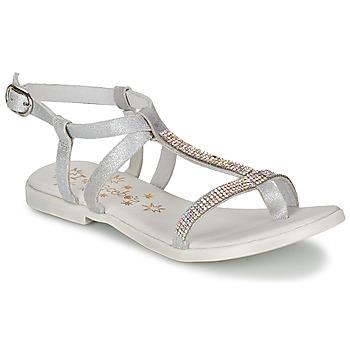 Sapatos Rapariga Sandálias Acebo's MADALEN Prateado