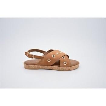 Sapatos Mulher Sandálias Inuovo Sandália 8261 Castanho