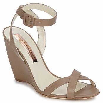 Sapatos Mulher Sandálias Rupert Sanderson ALIGHT Castanho