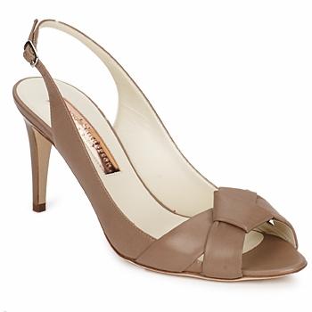 Sapatos Mulher Sandálias Rupert Sanderson GAYNOR Castanho