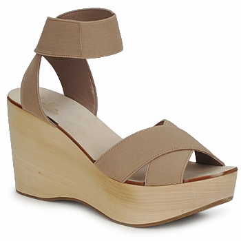 Sapatos Mulher Sandálias Belle by Sigerson Morrison ELASTIC Cru
