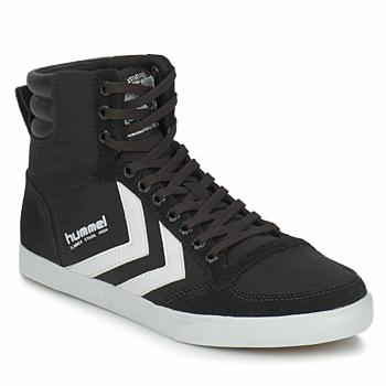 Sapatos Sapatilhas de cano-alto Hummel TEN STAR HIGH CANVAS Preto / Branco