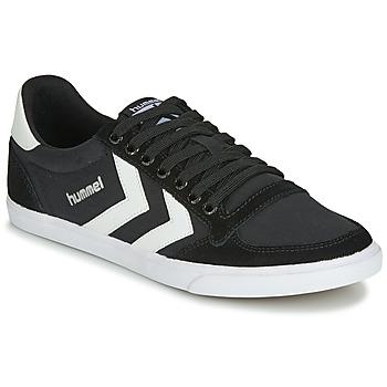 Sapatos Sapatilhas Hummel TEN STAR LOW CANVAS Preto / Branco