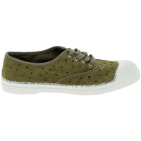 Sapatos Mulher Sapatilhas de ténis Bensimon Toile Lacet Kaki Verde