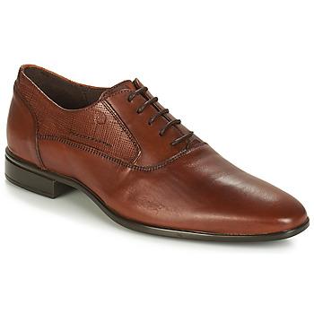 Sapatos Homem Richelieu Carlington JIPINO Conhaque