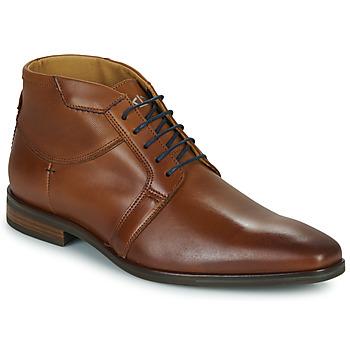 Sapatos Homem Botas baixas Carlington JESSY Conhaque