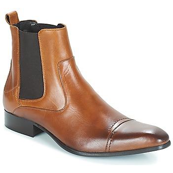 Sapatos Homem Botas baixas Carlington ERINZI Conhaque