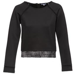 Textil Mulher Sweats Brigitte Bardot AMELIE Preto