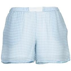 Textil Mulher Shorts / Bermudas Brigitte Bardot ANGELIQUE Azul / Branco