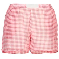 Textil Mulher Shorts / Bermudas Brigitte Bardot ANNE Vermelho / Branco