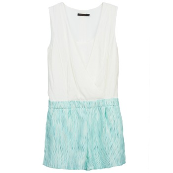 Textil Mulher Macacões/ Jardineiras Color Block ALIX Azul