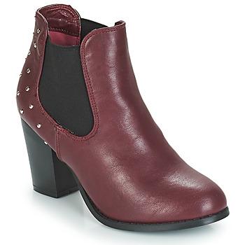 Sapatos Mulher Botins Moony Mood JURDEAN Bordô