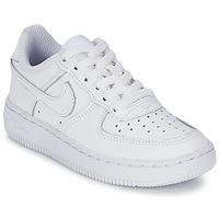 Sapatos Criança Sapatilhas Nike AIR FORCE 1 Branco