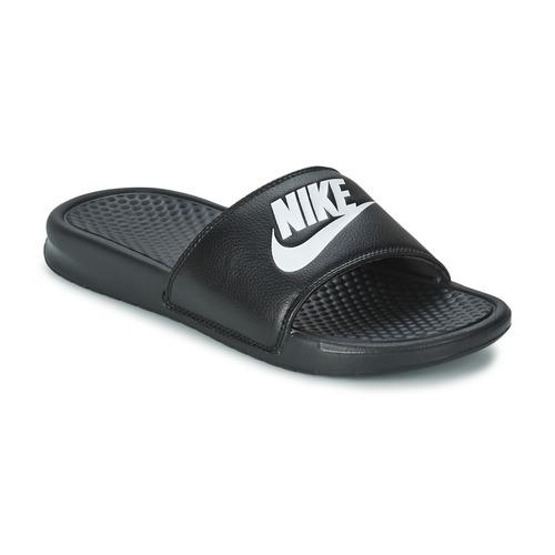 Sapatos Homem chinelos Nike BENASSI JUST DO IT Preto