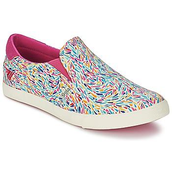 Sapatos Mulher Slip on Gola DELTA LIBERTY KT Branco / Rosa / Azul
