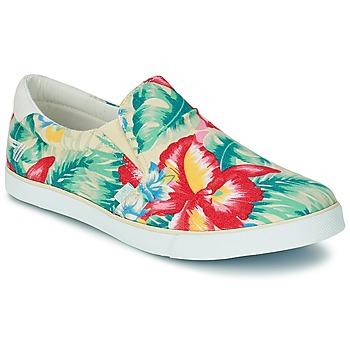 Sapatos Mulher Slip on Gola DELTA HIBISCUS Cru / Multicolor