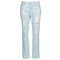 Textil Mulher Calças Jeans Cimarron BOY Azul / Claro